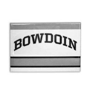 Bowdoin Hockey Jersey Style Fridge Magnet
