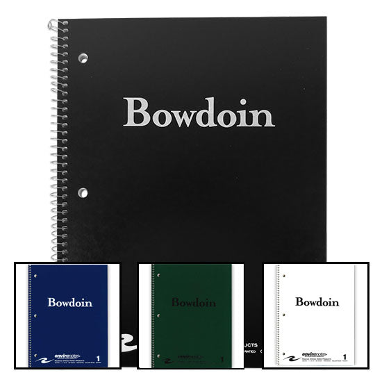 Bowdoin 80-Sheet 1 Subject Notebook