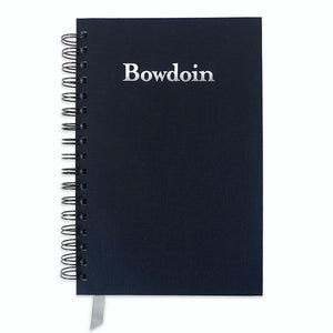 Wirebound Linen Journal with Bowdoin