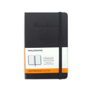 Pocket Bowdoin Moleskine Notebook