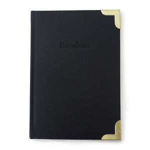 Bowdoin Journal with Brass Corners