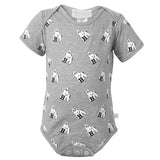 Infant Onesie with All-Over Mascot Print from Third Street