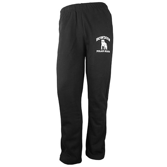 Big Cotton Pants with Bowdoin Polar Bears & Mascot from Gear for Sports