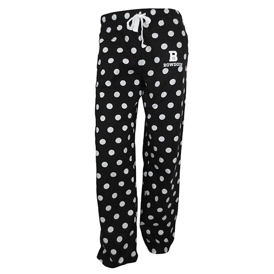 Polka Dot Flannel Lounge Pants from Boxercraft