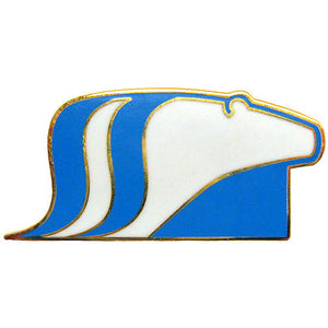 Museum Polar Bear pin