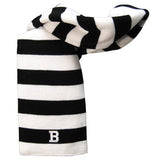 Rugby Striped Knit Scarf from Logofit