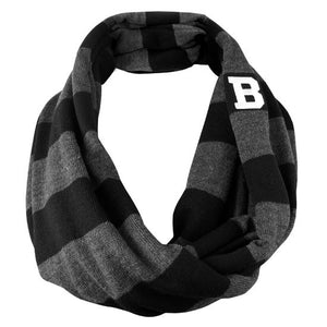 Cascade Striped Infinity Scarf from Logofit