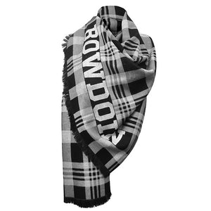 Plaid Bowdoin Scarf from Jardine
