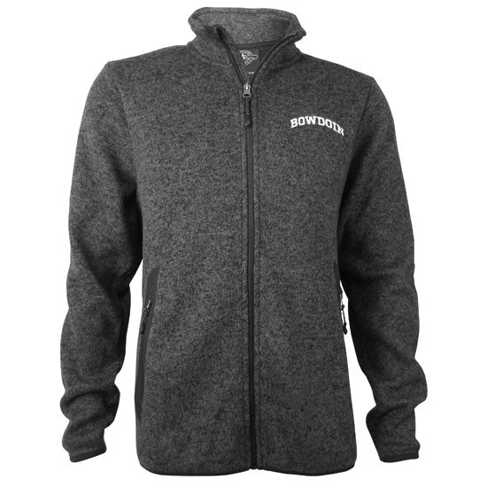 Men's Heathered Fleece Full Zip from Charles River