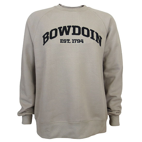 Bowdoin 1794 Vintage Fleece Crew from MV Sport