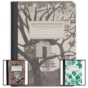 Main image of Decomposition Books showing 3 of the different styles available of many..