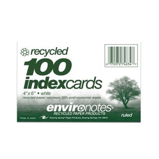 4x6 Ruled Index Cards