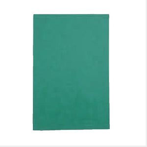 Green rectangular sheet of gomuban.