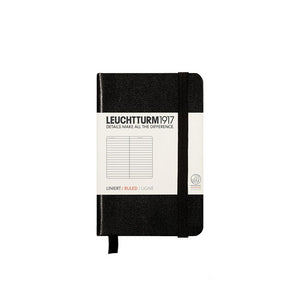 Mini notebook in black