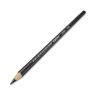 Black ebony pencil.