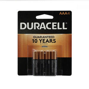 4-pack of AAA Duracell batteries.