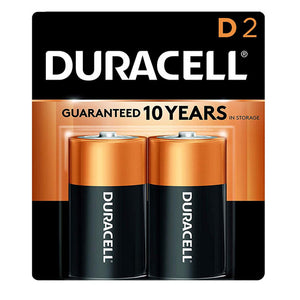 2-pack of D batteries.