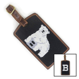 Montage of two styles of S&B luggage tag.