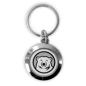 Prestige Round Key Tag with Mascot Medallion