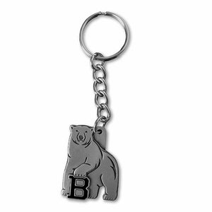 Pewter Mascot Key Tag