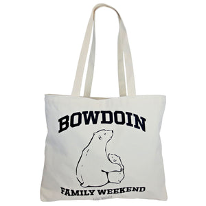 Bowdoin Family Weekend Tote Bag