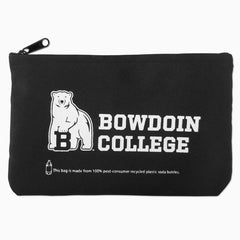 Zippered Pouch with Bowdoin College & Mascot