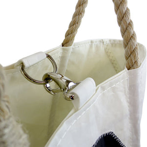 Handbag Tote with Clasp from Sea Bags