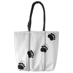 Paw Print Tote from Sea Bags