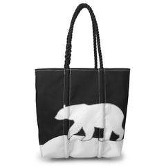 Polar Bear Tote from Sea Bags