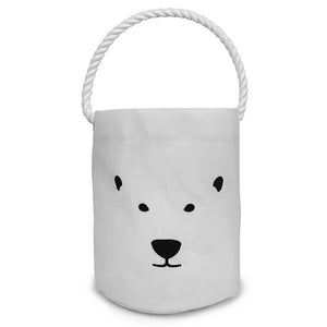 Polar Bear Bucket Tote from Sea Bags