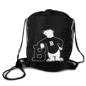 Drawstring Sport Tote with Spirit Bear