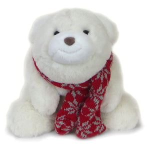 Snuffles Bear with Red Scarf from Gund