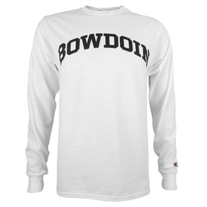Basic Bowdoin Long-Sleeved Tee from Champion