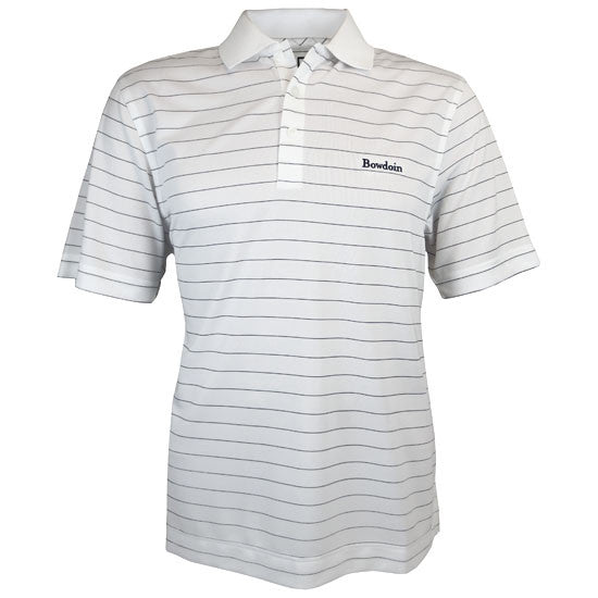 CB DryTec Franklin Stripe Polo from Cutter & Buck