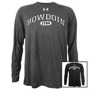 Bowdoin 1794 Long-Sleeved Tech Tee from Under Armour
