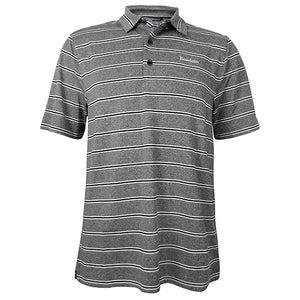 Forge Heather Stripe Polo from Cutter & Buck