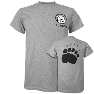 Mascot Medallion Tee with Paw Back from MV Sport