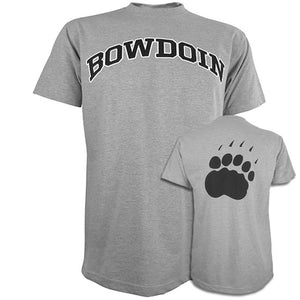 Front and back sides of Everest Sustainable Paw Back Tee.