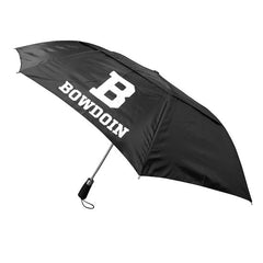 WindFlow Vented Black Umbrella from Storm Duds