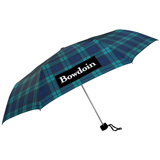Black Watch Plaid Umbrella from Storm Duds