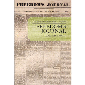 Cover of Freedom's Journal by Jacqueline Bacon