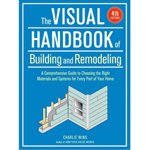 Cover of Visual Handbook of Building and Remodeling by Charlie Wing '61
