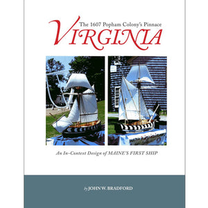 Cover of Virginia: Maine's First Ship by John W. Bradford '61