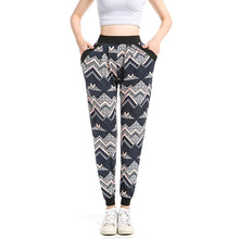Load image into Gallery viewer, Zig-Zag Pattern Sweatpants