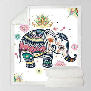 Elephant Throw Blanket