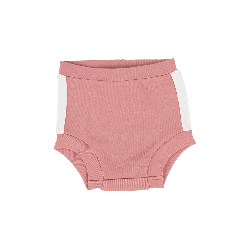 Analogie by Lil Legs Bloomers Jellybeanzkids Analogie Pink/White Linear High Waisted Bloomer