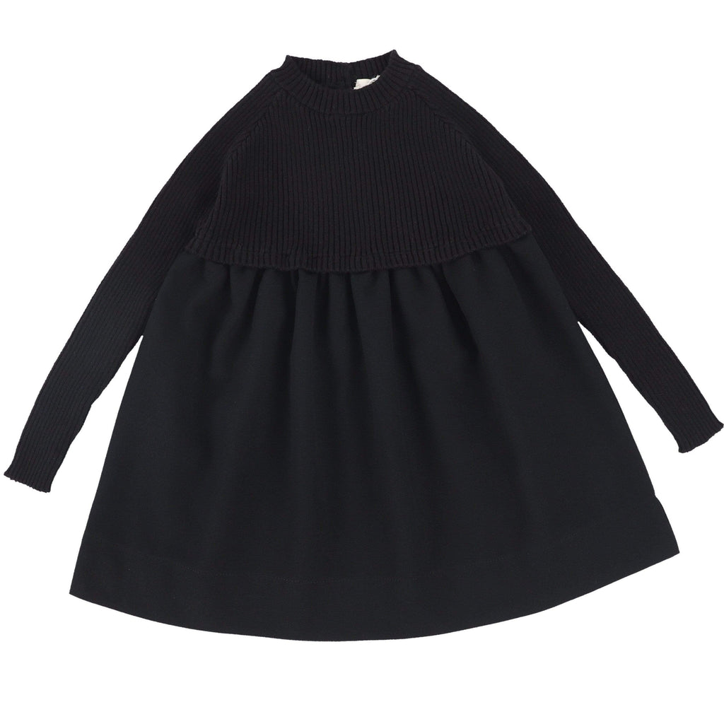 Analogie by Lil Legs Black Knit Dress