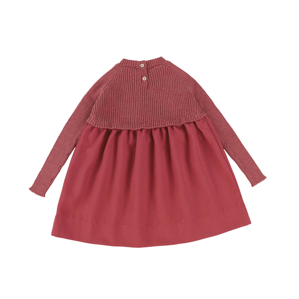 Analogie by Lil Legs Dress Jellybeanzkids Analogie by Lil Legs Mauve Knit Dress