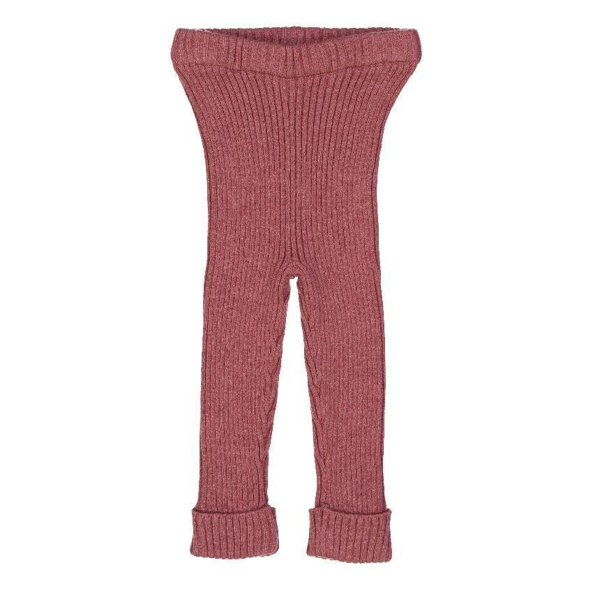 Analogie by Lil Legs Analogie Mauve Pink Knit Leggings  JellyBeanz Kids
