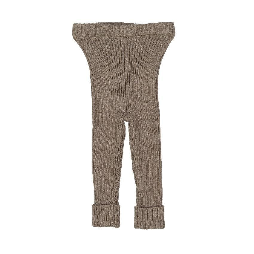 Analogie by Lil Legs Analogie Oatmeal Knit Leggings  JellyBeanz Kids
